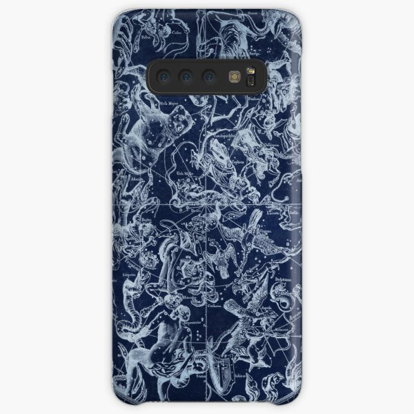 Vintage Constellations & Astrological Signs | White Samsung Galaxy Snap Case