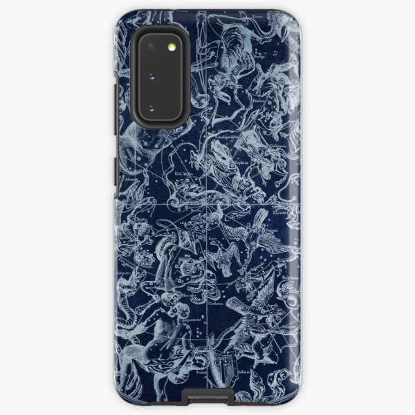 Vintage Constellations & Astrological Signs | White Samsung Galaxy Tough Case
