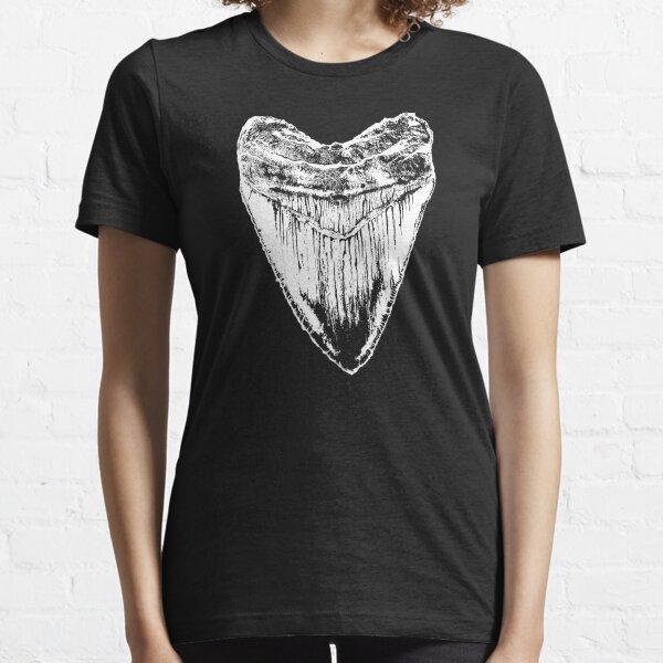 Megalodon tooth tshirt Essential T-Shirt