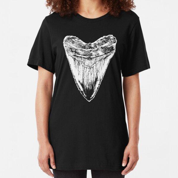 Megalodon tooth tshirt Slim Fit T-Shirt