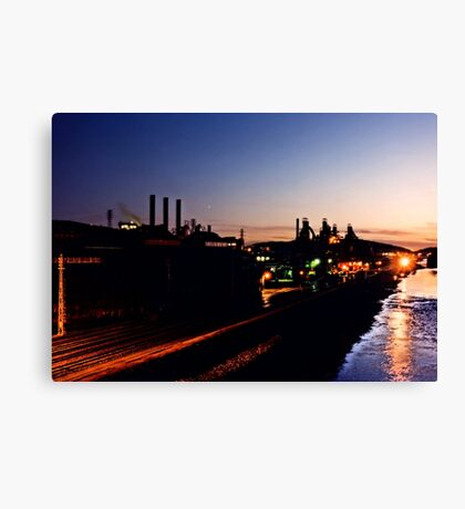 Blast furnaces - Bethlehem Pa. Canvas Print