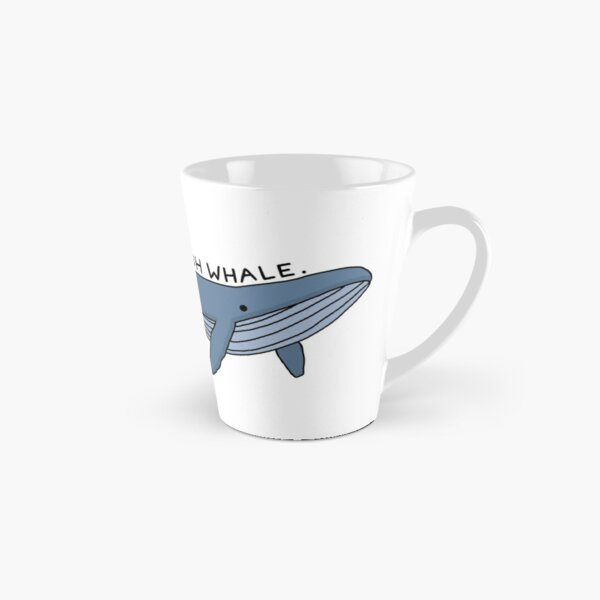 'Oh Whale.' Whale Illustration 1 Tall Mug