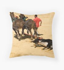The End. Throw Pillow
