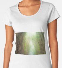 Fog Filled Forrest on Hawaii Women's Premium T-Shirt