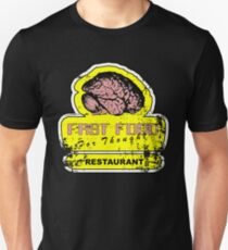 Fast food for thought (Distressed look) T-Shirt