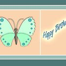butterfly birthday by picketty