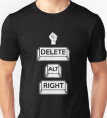Delete the Alt-Right Unisex T-Shirt