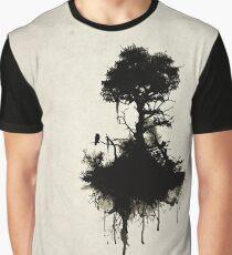 Letzter Baum steht Grafik T-Shirt