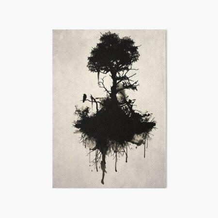Last Tree Standing Art Board Print