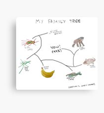 My Family Tree Metal Print