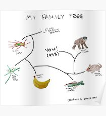 My Family Tree Poster