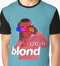Frank Ocean Blond Helmet Logo Graphic T-Shirt