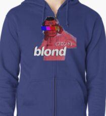Frank Ocean Blond Helmet Logo Zipped Hoodie