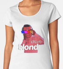 Frank Ocean Blond Helmet Logo Women's Premium T-Shirt