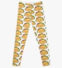 Yummy Taco Skull > Taco Men > Funny Taco Leggings