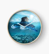 Tortoise Clock