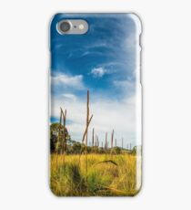 Country scenery in Australian outback iPhone Case/Skin