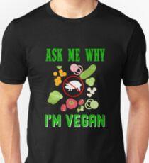 Funny Vegan T Shirt For Men Women Best Birthday Gifts Vegans Unisex