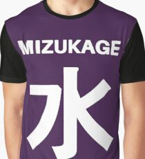 Mizukage Kiri Symbols Graphic T-Shirt