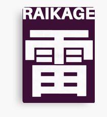 Raikage Kumo Symbols Canvas Print