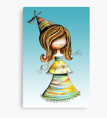 Party Girl Sky Canvas Print