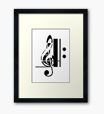 The Sight of Music (4) Framed Print