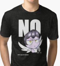 """""""NO"""" by IlaxB. Tri-blend T-Shirt"""