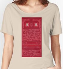 Heart Art with text Women's Relaxed Fit T-Shirt