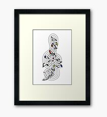 The Sight of Music (3) Framed Print