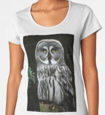 The Great Grey Owl Women's Premium T-Shirt