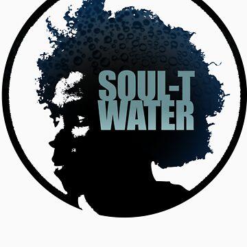 Soul Afro Water Tee by bobsprinkle