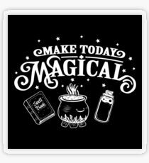 Make Today Magical  Transparent Sticker