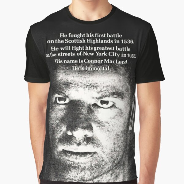 He Is Immortal Graphic T-Shirt