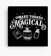 Make Today Magical  Canvas Print