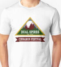 Dual Spires - Psych Unisex T-Shirt