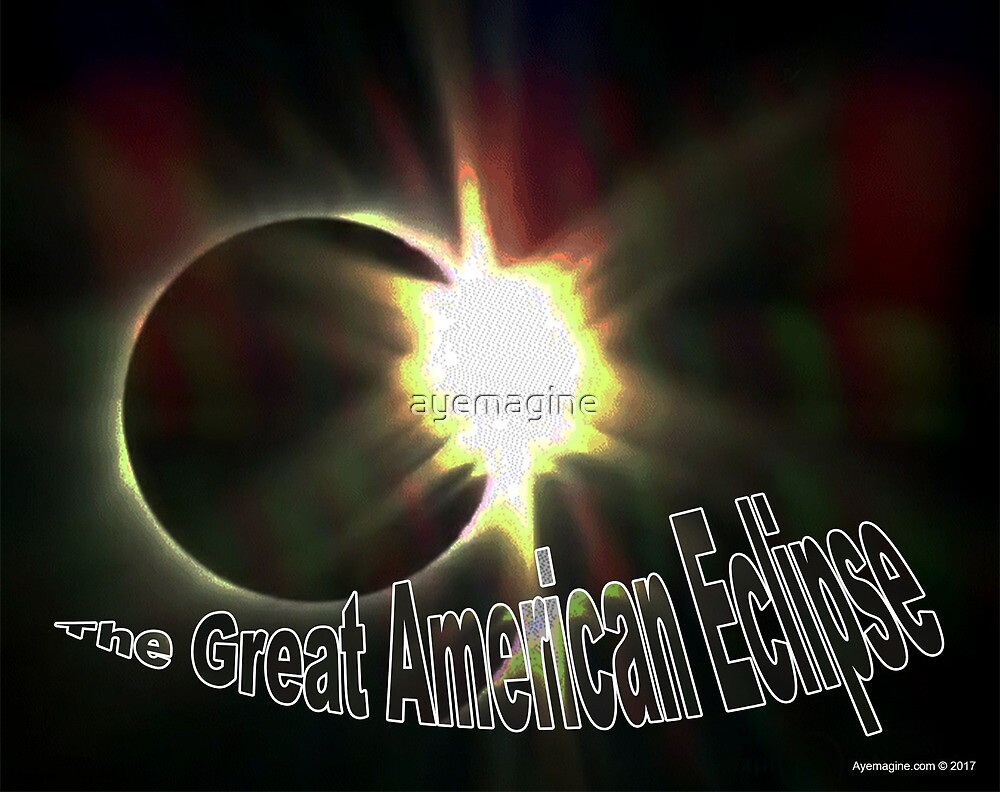 The Great American Eclipse Diamond Ring by ayemagine