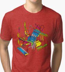 Crazy Instruments Tri-blend T-Shirt