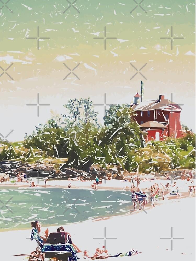 Summer Beach Sunshine by perkinsdesigns