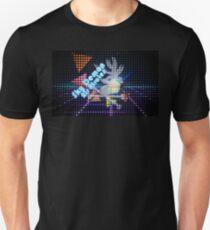 Sky Demon Air Pirates - 80's Dot Matrix T-Shirt