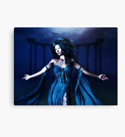 Woman under water 3 Canvas Print