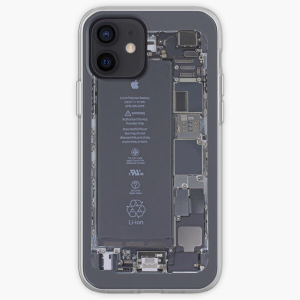 iPhone circuit board iPhone Soft Case