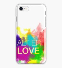ALT ER LOVE - skam iPhone Case/Skin