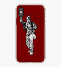 Indiana Jones Handzeichnung iPhone-Hülle & Cover