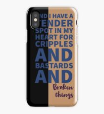 Words of Tyrion Lannister iPhone Case/Skin
