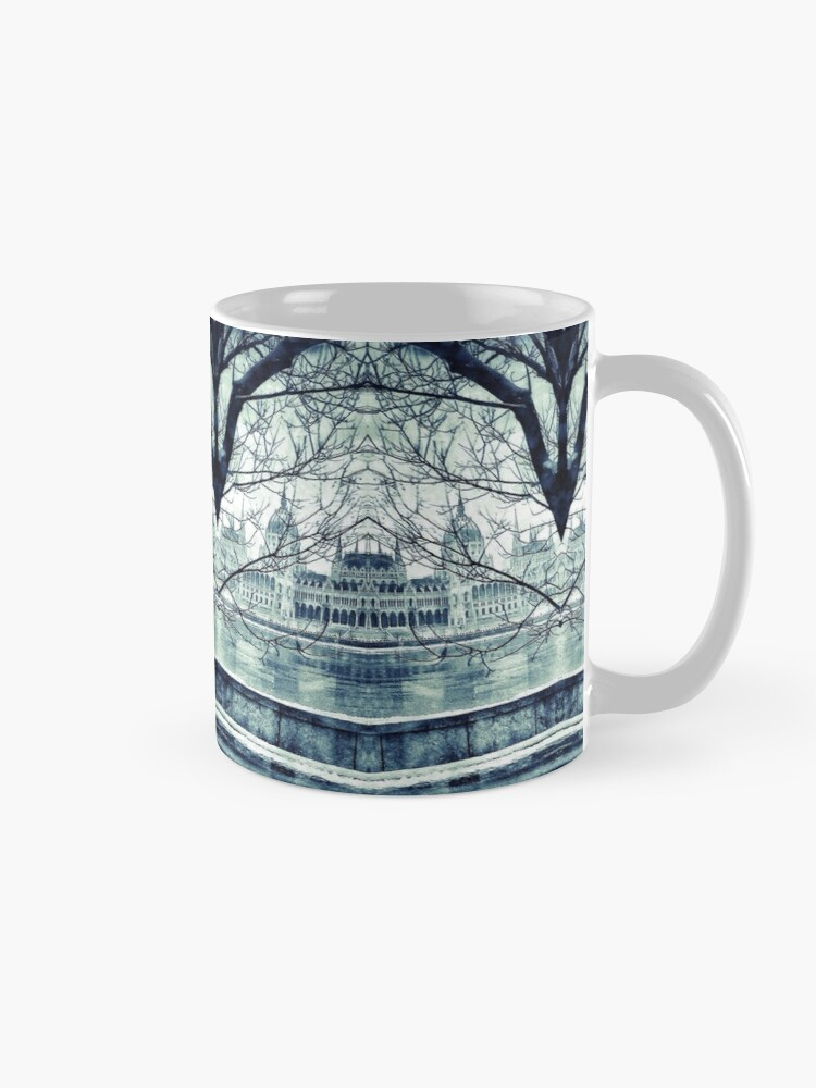 Alternate view of Wake Up Positive Today. Join the Happiness Movement Mug
