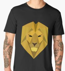 The Golden Lion of House Lannister Men's Premium T-Shirt