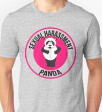 Camiseta unisex Hostigamiento sexual Panda