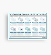A Brief Guide to Atmospheric Pollutants Metal Print