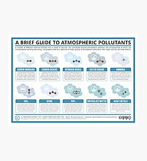 A Brief Guide to Atmospheric Pollutants Photographic Print