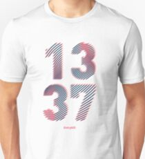 Leet 1337 (Gamer T-shirt) Unisex T-Shirt